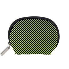 Pattern Halftone Background Dot Accessory Pouches (small)