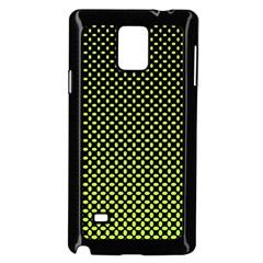 Pattern Halftone Background Dot Samsung Galaxy Note 4 Case (black)