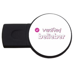 Verified Belieber Usb Flash Drive Round (2 Gb) by Valentinaart