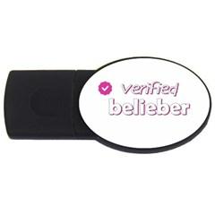 Verified Belieber Usb Flash Drive Oval (2 Gb) by Valentinaart