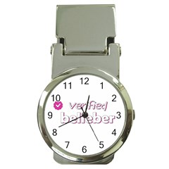 Verified Belieber Money Clip Watches by Valentinaart