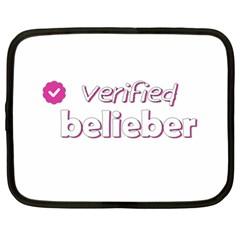 Verified Belieber Netbook Case (xl)  by Valentinaart