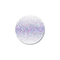 Star Curved Background Geometric Golf Ball Marker (4 Pack)