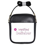 Verified Belieber Girls Sling Bags Front