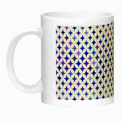 Star Curved Background Geometric Night Luminous Mugs