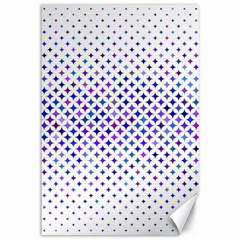 Star Curved Background Geometric Canvas 12  X 18