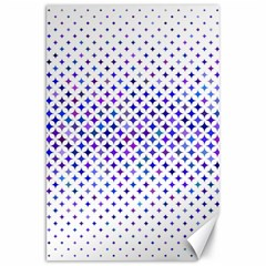 Star Curved Background Geometric Canvas 20  X 30
