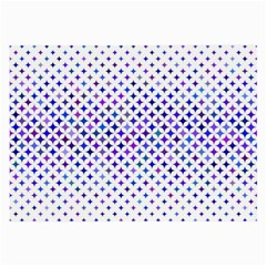 Star Curved Background Geometric Large Glasses Cloth (2 Side) by BangZart