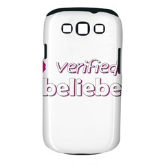 Verified Belieber Samsung Galaxy S Iii Classic Hardshell Case (pc+silicone) by Valentinaart