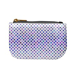 Star Curved Background Geometric Mini Coin Purses