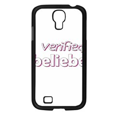 Verified Belieber Samsung Galaxy S4 I9500/ I9505 Case (black) by Valentinaart