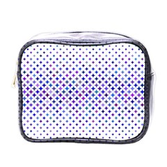 Star Curved Background Geometric Mini Toiletries Bags