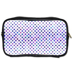 Star Curved Background Geometric Toiletries Bags 2 Side