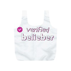 Verified Belieber Full Print Recycle Bags (s)  by Valentinaart