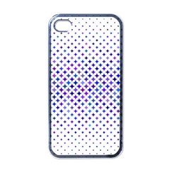 Star Curved Background Geometric Apple Iphone 4 Case (black)