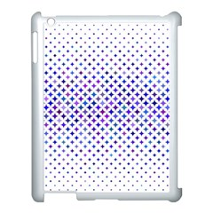 Star Curved Background Geometric Apple Ipad 3/4 Case (white)