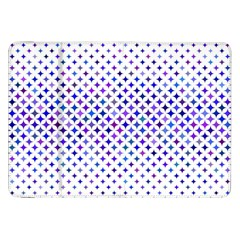 Star Curved Background Geometric Samsung Galaxy Tab 8 9  P7300 Flip Case by BangZart