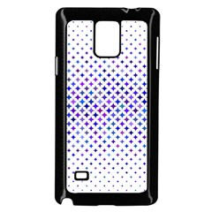 Star Curved Background Geometric Samsung Galaxy Note 4 Case (black)