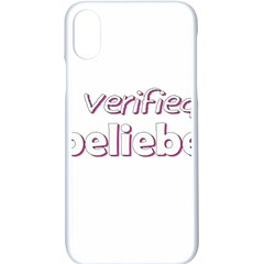 Verified Belieber Apple Iphone X Seamless Case (white) by Valentinaart