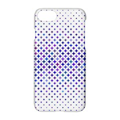 Star Curved Background Geometric Apple Iphone 7 Hardshell Case