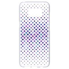 Star Curved Background Geometric Samsung Galaxy S8 White Seamless Case