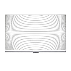 Pattern Background Monochrome Business Card Holders