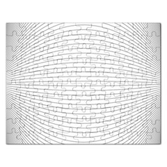 Pattern Background Monochrome Rectangular Jigsaw Puzzl