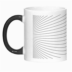 Pattern Background Monochrome Morph Mugs