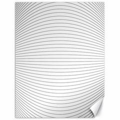 Pattern Background Monochrome Canvas 18  X 24   by BangZart