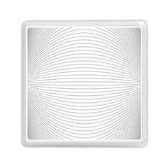 Pattern Background Monochrome Memory Card Reader (square)