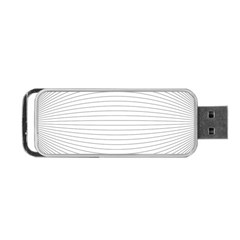 Pattern Background Monochrome Portable Usb Flash (one Side)