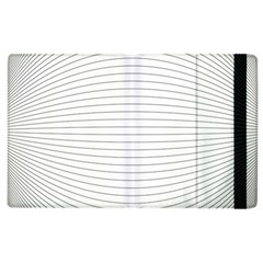 Pattern Background Monochrome Apple Ipad 2 Flip Case
