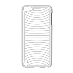 Pattern Background Monochrome Apple Ipod Touch 5 Case (white)