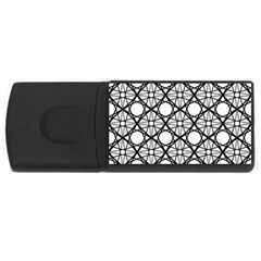 Line Stripe Curves Curved Seamless Rectangular Usb Flash Drive