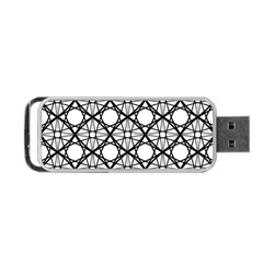 Line Stripe Curves Curved Seamless Portable Usb Flash (two Sides) by BangZart