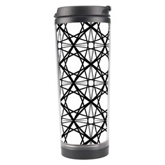 Line Stripe Curves Curved Seamless Travel Tumbler