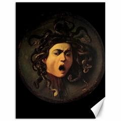Medusa Canvas 12  X 16   by Valentinaart
