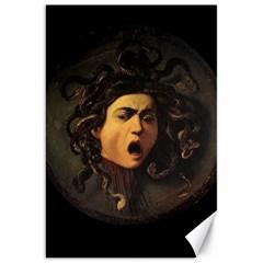 Medusa Canvas 20  X 30   by Valentinaart