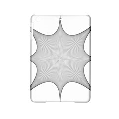 Star Grid Curved Curved Star Woven Ipad Mini 2 Hardshell Cases by BangZart