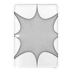 Star Grid Curved Curved Star Woven Samsung Galaxy Tab Pro 10 1 Hardshell Case