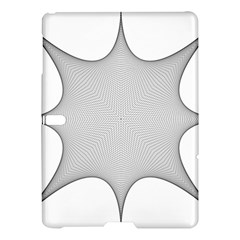 Star Grid Curved Curved Star Woven Samsung Galaxy Tab S (10 5 ) Hardshell Case