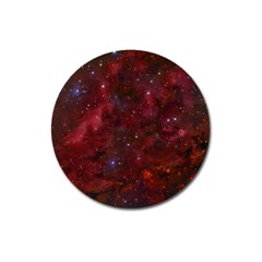 Abstract Fantasy Color Colorful Magnet 3  (round)