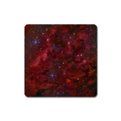 Abstract Fantasy Color Colorful Square Magnet