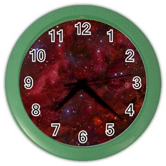 Abstract Fantasy Color Colorful Color Wall Clocks