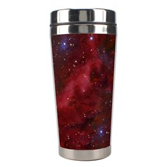 Abstract Fantasy Color Colorful Stainless Steel Travel Tumblers by BangZart