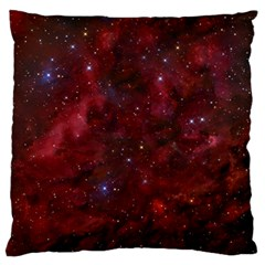Abstract Fantasy Color Colorful Large Flano Cushion Case (one Side)