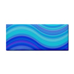Blue Background Water Design Wave Cosmetic Storage Cases