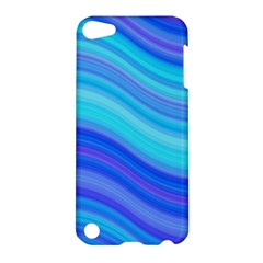 Blue Background Water Design Wave Apple Ipod Touch 5 Hardshell Case