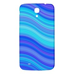 Blue Background Water Design Wave Samsung Galaxy Mega I9200 Hardshell Back Case