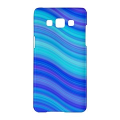 Blue Background Water Design Wave Samsung Galaxy A5 Hardshell Case
